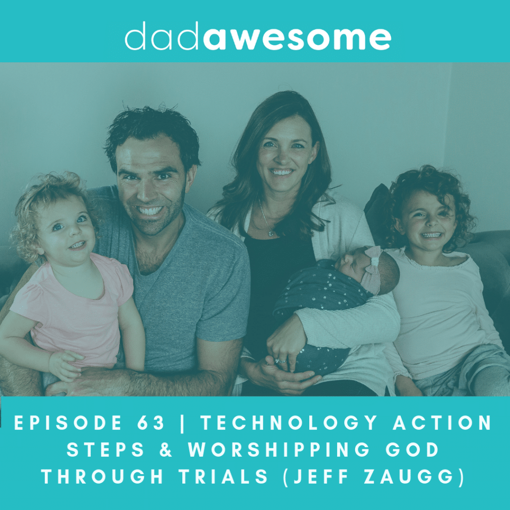 We release dadAWESOME episodes every Sunday and since this month (March 2019) has 5 Sundays, this is a special bonus episode. Jeff Zaugg shares his reflections on the previous 4 episodes outlining 5 action steps to put this these insights around Screens, Smartphones and Social Media into action. Expanding beyond the technology theme, Jeff shares three stories about trials, pain and choosing to worship in a season of unanswered prayer.
