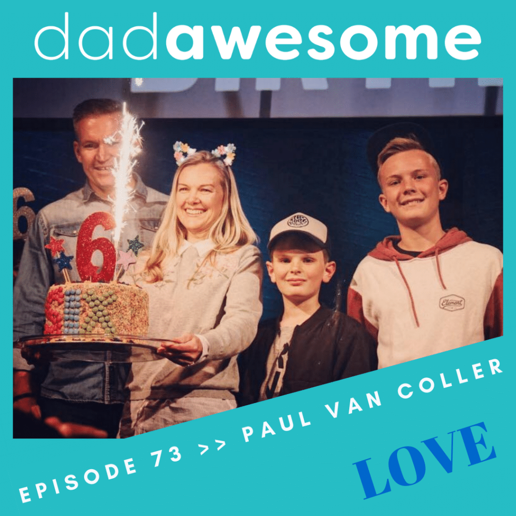 Paul Van Coller dadAWESOME