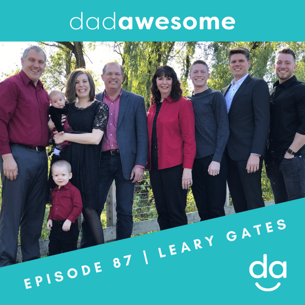 Leary Gates dadAWESOME